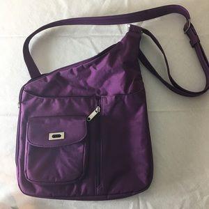 Travelon crossbody bag purple